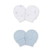 mothercare 藍白2入手套-可愛小熊(M1TA061)06個月