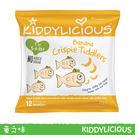 英國 Kiddylicious童之味香蕉水果脆脆魚點心12g*3入兒童寶寶幼兒愛吃點心零食副食品