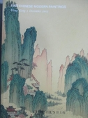 【書寶二手書T2/收藏_ZJE】Christie s_Fine Chinese Modern Paintings_201