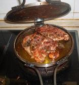 鐵板雞架專用設備,雞架煎鍋,鐵板雞架鍋,鐵板雞架爐 JD聖誕節狂歡