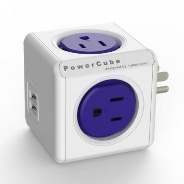 PowerCube USB擴充插座 藍色