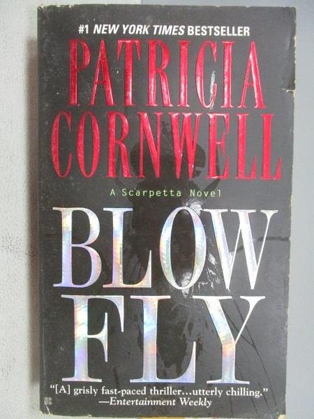 【書寶二手書T6/原文小說_CY5】BLOW FLY_Patricia Cornwell