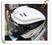 林森●GP-5安全帽,3/4安全帽,半罩式,飛行帽,232,卡夢彩繪,白