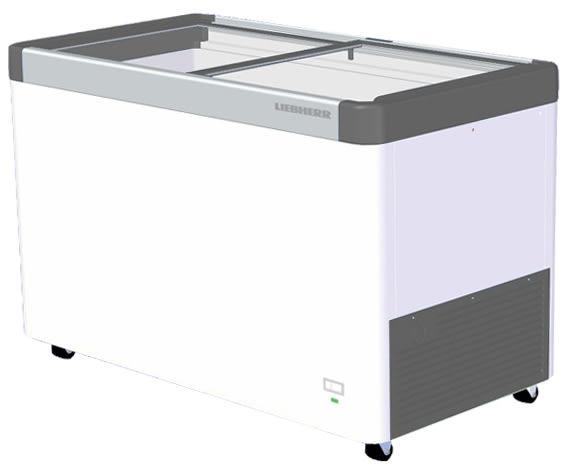 «免運費»德國利勃 LIEBHERR 4呎2 玻璃推拉冷凍櫃 361L EFE-3502【南霸天電器百貨】
