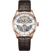 Hamilton 爵士系列鏤空機械錶-40mm(H42505510)