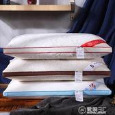 可水洗針織全棉慢回彈定型枕頭五星級酒店枕芯護頸保健枕一對拍2igo   電購3C