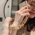粗鍊條 鏡面 素面鏡子 鏈子 防摔殼 iPhone 12 11 Pro Max XR Xs 7/8 SE2 蘋果 手機殼