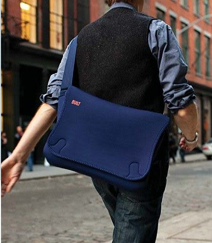 【A Shop】 BUILT NY 17吋SOHO郵差包/電腦包-E-MS16系列共二色 For Macbook Pro