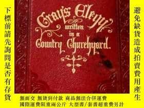 二手書博民逛書店【包罕見】An Elegy Written in a Count