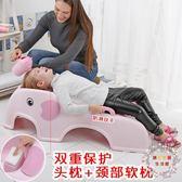 兒童洗頭躺椅 寶寶洗頭床洗髮躺椅 兒童洗頭椅子可折疊加大加厚 XW