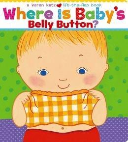 【麥克書店】『快樂讀出英語力』WHERE IS BABY'S BELLY BUTTON /硬頁翻翻書