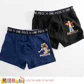 12~18歲青少年內褲(兩件一組) 航海王授權正版彈性四角內褲 魔法Baby