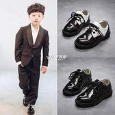 快速出貨男童皮鞋春秋款軟底黑色英倫風中大童表演演出鞋韓版中小童