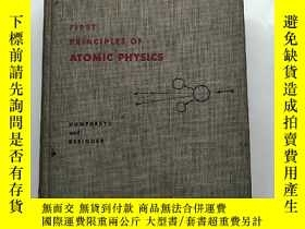 二手書博民逛書店first罕見principles of atomic phys