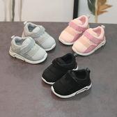 嬰兒鞋 學步鞋秋冬男寶寶運動鞋軟底嬰兒鞋學步鞋女0-1-3歲加絨二棉鞋 滿1元88折限時爆殺