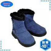 【ESKT 台灣 童 中筒雪鞋《藍》】SN165/冰爪/保暖雪靴/雪地行走/旅遊/靴子