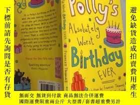 二手書博民逛書店polly's罕見absolutely worst birthday 波莉的生日真是糟透了Y200392