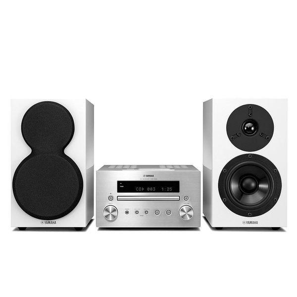 YAMAHA MCR-550 Hi-Fi 組合音響 (銀白絕版款)