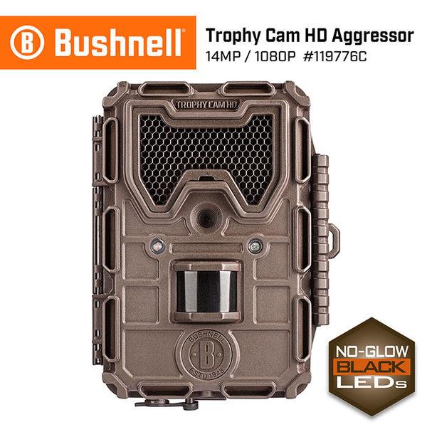 【美國 Bushnell 倍視能】Trophy Cam HD Aggressor 1400萬畫素 極速高畫質紅外線自動相機 119776C (公司貨)