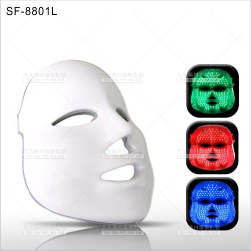 台灣紳芳 | SF-8801L LED光子嫩膚面膜儀(三彩光)[53347]美容開業儀器設備