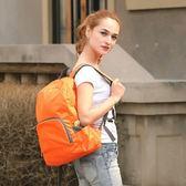 超輕便攜可摺疊皮膚包 戶外防水旅行背包登山包學生包運動休閒包   可然精品鞋櫃
