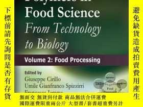 二手書博民逛書店Functional罕見Polymers in Food Science: From Technology to