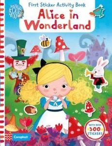 ALICE IN WONDERLAND:FIRST STICKER ACTIVITY BOOK  /附300張以上貼紙
