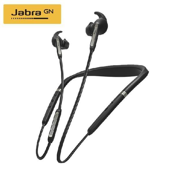 【南紡購物中心】【Jabra】Elite 65e 入耳掛頸式立體聲藍牙耳機(鈦黑色)