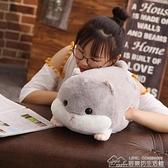 現貨 倉鼠公仔毛絨玩具布娃娃玩偶可愛懶人床上抱著睡覺的生日禮物女生 【中秋鉅惠】YYJ
