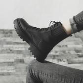 特賣馬丁靴馬丁靴女英倫風新款百搭春秋季單靴短筒厚底鞋秋款機車短靴子