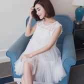 孕婦禮服蓬蓬裙短款公主洋裝小禮服洋裝寬鬆大碼   卡菲婭