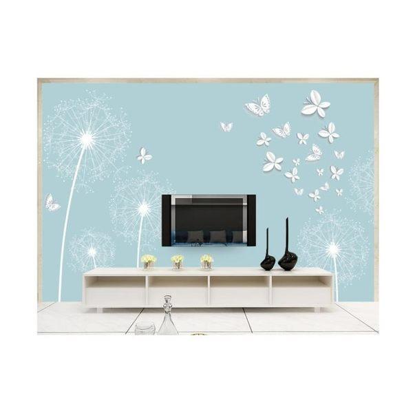 8d電視背景墻壁紙現代簡約5d立體影視裝飾客廳壁畫墻布3d大氣墻紙LG-585917