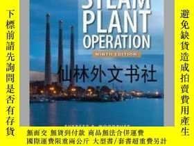 二手書博民逛書店【罕見】Steam Plant Operation 9th Ed