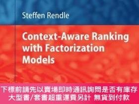 二手書博民逛書店Context-aware罕見Ranking With Factorization ModelsY255174
