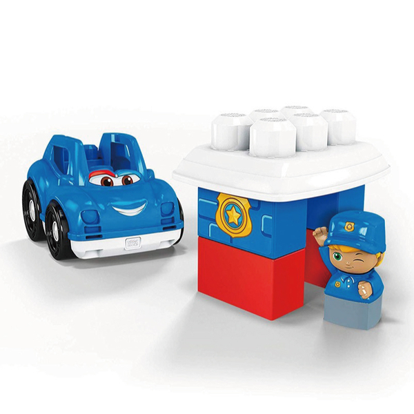 Mega Bloks美高積木小小警察車
