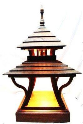 東南亞 木雕 景觀燈