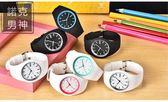 電子手錶 超薄簡約學生情侶男時尚女韓版潮流防水糖果夜光果凍電子手錶【父親節小禮】