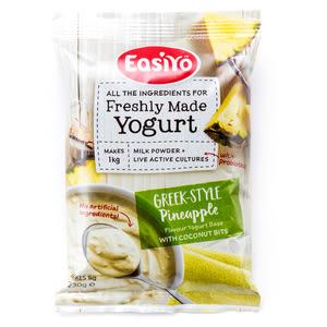 紐西蘭 EasiYo 優格粉 鳳梨椰子口味 230g/包