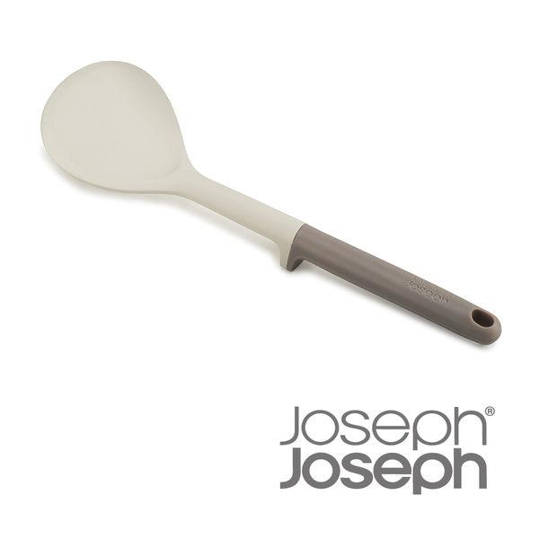 英國 Joseph Joseph 不沾桌矽膠圓鏟-灰