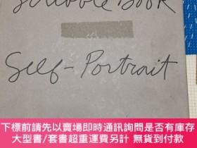 二手書博民逛書店chuck罕見close scribble book:self- portrait volume one volu