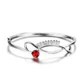 手環 925純銀水晶-奢華唯美生日母親節禮物女手鍊6色73fg31【時尚巴黎】