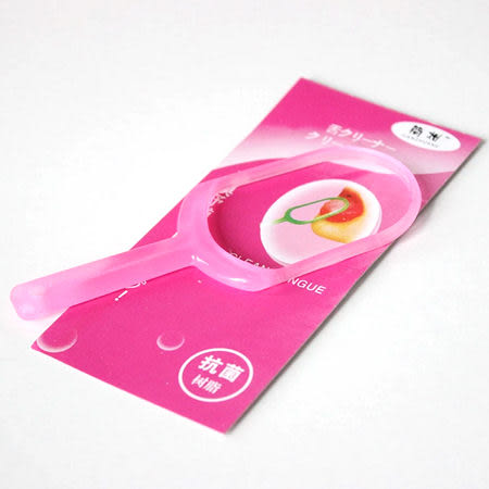 日式舌苔清潔器舌苔清潔刷【省錢博士】刮舌器 / 顏色隨機