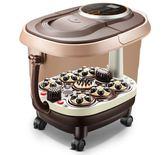 泡腳按摩器足浴盆全自動按摩加熱家用深桶電動恒溫tz9154【KIKIKOKO】