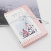 去往芬蘭的旅人明信片 北歐風景絕景圖 創意文藝賀卡 圣誕明信片