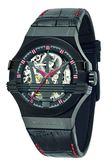 【Maserati 瑪莎拉蒂】/經典LOGO鏤空機械錶(男錶 女錶 Watch)/R8821108010/台灣總代理原廠公司貨兩年保固