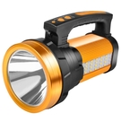 手電筒手電筒強光充電超亮戶外遠射led大...