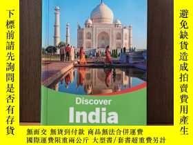 二手書博民逛書店LONELY罕見PLANET DISCOVER INDIA (TRAVEL GUIDE)Y12800 Lone