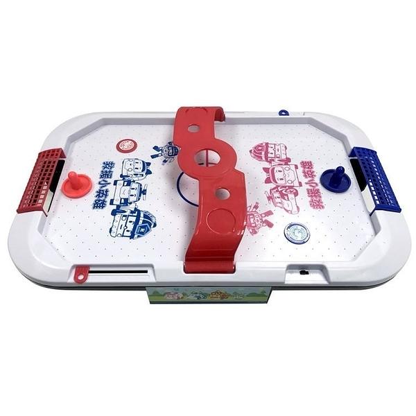【POLI 波力】波力歡樂氣動球←桌上冰球 POLI 玩具 聲光 麥克風 生日 贈品 禮物 批發 團購