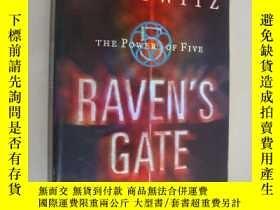 二手書博民逛書店烏鴉之門罕見Raven s Gate(Anthony Horow