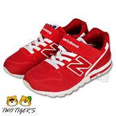New Balance 996 聖誕紅 魔鬼氈布鞋 中大童鞋 NO.R2205
